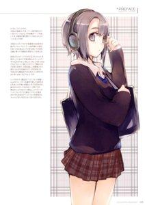 Rating: Safe Score: 17 Tags: fujishima headphones raving_phantom seifuku User: Kalafina