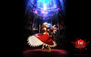 Rating: Safe Score: 31 Tags: armor dress fate/extra fate/extra_last_encore fate/stay_night heels saber_extra sword User: SubaruSumeragi