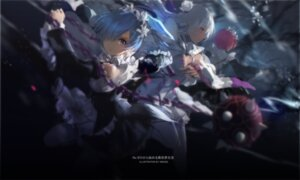 Rating: Safe Score: 74 Tags: cleavage emilia_(re_zero) maid ram_(re_zero) re_zero_kara_hajimeru_isekai_seikatsu rem_(re_zero) swd3e2 thighhighs weapon User: Mr_GT