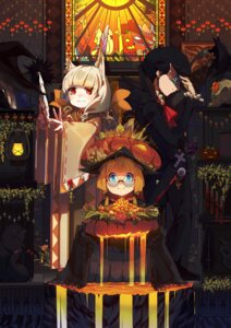 Rating: Safe Score: 2 Tags: animal_ears forte halloween megane witch User: Mr_GT