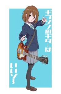 Rating: Safe Score: 13 Tags: guitar hasisisissy hirasawa_yui k-on! pantyhose seifuku User: Dreista