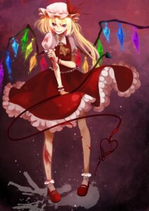 Rating: Safe Score: 8 Tags: blood flandre_scarlet sign-jiu touhou wings User: Nekotsúh