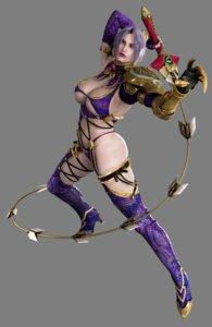 Rating: Questionable Score: 22 Tags: bikini_armor cleavage ivy_valentine soul_calibur soul_calibur_iv sword thighhighs underboob weapon User: Yokaiou
