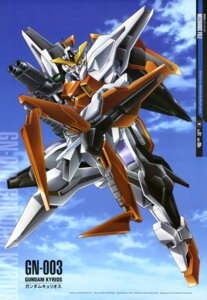 Rating: Safe Score: 17 Tags: gundam gundam_00 gundam_kyrios mecha nakatani_seiichi User: solidvanz