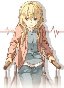 Rating: Safe Score: 19 Tags: miyazono_kaori pajama shigatsu_wa_kimi_no_uso sweater tagme User: Spidey