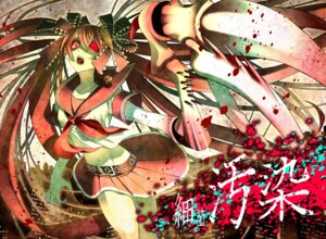 Rating: Safe Score: 20 Tags: blood calne_ca monster_girl seifuku shijuuhachi User: charunetra