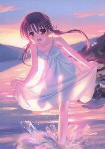 Rating: Safe Score: 74 Tags: dress kogemashita see_through summer_dress takoyaki User: midzki