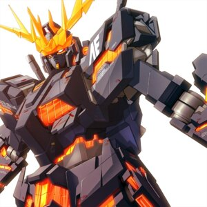 Rating: Safe Score: 8 Tags: banshee gundam gundam_unicorn mecha User: HMX999