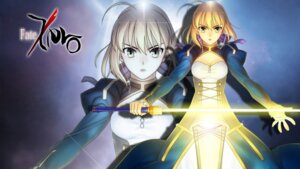 Rating: Safe Score: 15 Tags: aldila dress fate/stay_night fate/zero saber sword wallpaper User: omegakung
