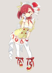 Rating: Safe Score: 21 Tags: cleavage maid miyoshino see_through thighhighs User: nphuongsun93
