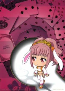Rating: Safe Score: 14 Tags: animal_ears anya_alstreim bunny_ears chibi code_geass kimura_takahiro nunnally_in_wonderland User: Aurelia