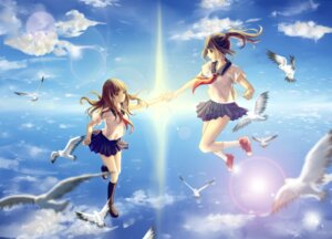 Rating: Safe Score: 34 Tags: clouble seifuku User: zero|fade