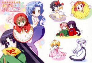 Rating: Safe Score: 5 Tags: chibi dress kimono mermaid nanao_naru ohimesama_navigation User: admin2