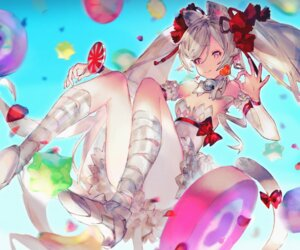 Rating: Safe Score: 29 Tags: animal_ears bandages destiny_child dress heels mono_(monoia14) tail User: Mr_GT