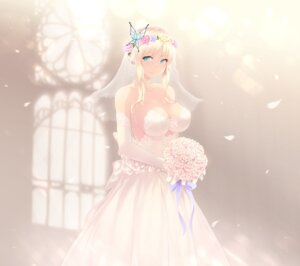 Rating: Safe Score: 74 Tags: boku_wa_tomodachi_ga_sukunai cait cleavage dress kashiwazaki_sena possible_duplicate wedding_dress User: charunetra