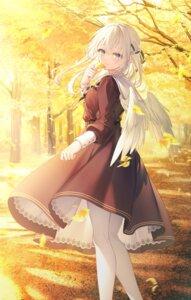 Rating: Safe Score: 10 Tags: dress pantyhose skirt_lift toosaka_asagi wings User: Arsy
