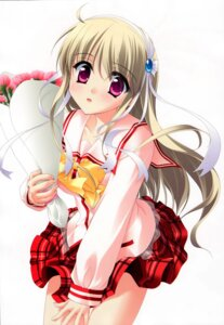 Rating: Safe Score: 16 Tags: bleed_through clarissa_satsuki_maezono honey_coming rakko_(maka-rakko) seifuku User: admin2