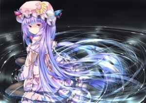 Rating: Safe Score: 22 Tags: patchouli_knowledge sugiyuu thighhighs touhou wet User: 椎名深夏