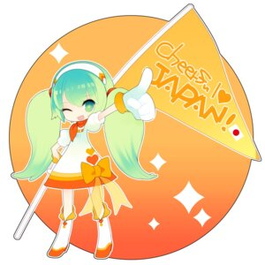 Rating: Safe Score: 7 Tags: chibi hatsune_miku putidevil vocaloid User: Nekotsúh