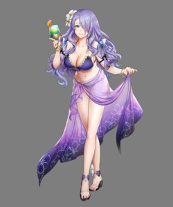 Rating: Questionable Score: 32 Tags: bikini camilla cleavage fire_emblem fire_emblem_heroes fire_emblem_if heels mikurou nintendo see_through swimsuits transparent_png User: Radioactive