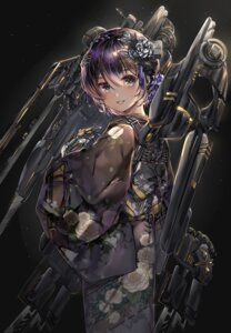Rating: Safe Score: 42 Tags: japanese_clothes kimono mecha_musume onew tagme weapon User: hiroimo2