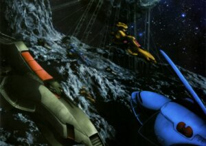 Rating: Safe Score: 1 Tags: gun gundam gundam_zz landscape mecha weapon zeta_gundam User: drop
