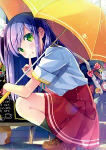 Rating: Questionable Score: 53 Tags: natsume_eri neko seifuku tagme umbrella User: Twinsenzw
