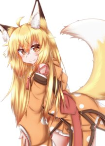 Rating: Safe Score: 13 Tags: animal_ears horokusa kitsune tail User: dick_dickinson