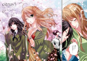 Rating: Safe Score: 17 Tags: aihara_mei aihara_yuzuko citrus_(manga) saburouta seifuku User: kiyoe