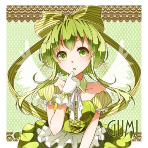 Rating: Safe Score: 20 Tags: dress gumi nou vocaloid wings User: shizukane