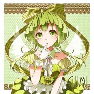 Rating: Safe Score: 22 Tags: dress gumi nou vocaloid wings User: shizukane