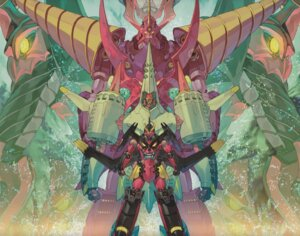 Rating: Safe Score: 18 Tags: mecha tengen_toppa_gurren_lagann User: nphuongsun93