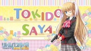 Rating: Safe Score: 10 Tags: gun key little_busters! na-ga seifuku tokido_saya wallpaper User: girlcelly