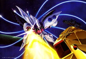 Rating: Questionable Score: 8 Tags: gundam qubeley takase_kenichi zeta_gundam User: drop