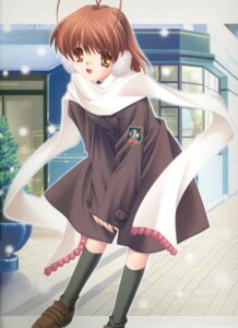 Rating: Safe Score: 5 Tags: clannad furukawa_nagisa hinoue_itaru User: Davison