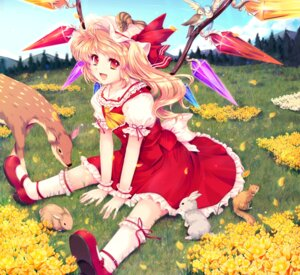 Rating: Safe Score: 27 Tags: cetera flandre_scarlet garter touhou User: Mr_GT