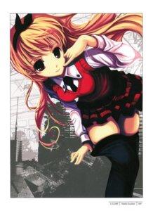 Rating: Safe Score: 42 Tags: cradle kanban_musume misaki_kurehito pantyhose seifuku undressing User: Aurelia