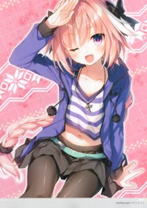 Rating: Safe Score: 14 Tags: astolfo_(fate) fate/apocrypha fate/stay_night pantyhose toosaka_asagi trap User: kiyoe