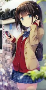 Rating: Safe Score: 97 Tags: cropped ohara_tometa qp:flapper seifuku sweater User: Hatsukoi