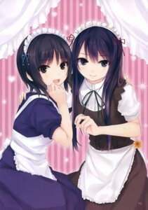 Rating: Safe Score: 62 Tags: aoyama_sumika coffee-kizoku maid royal_mountain shiramine_rika User: Twinsenzw