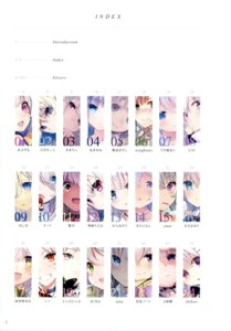 Rating: Safe Score: 8 Tags: abusoru amacha amakawa_sakko amamine chihiro cut_(bu-kunn) fukuda935 iijima_masashi index_page juna kamioka_chiroru kanitan karaage3 kinokomushi kuria_(clear_trip_second) oshio satsuki_mayuri shikino_yuki shirako_miso sune_(mugendai) takehana_note tama_satou text u35 usashiro_mani wingheart User: Twinsenzw