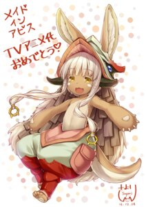 Rating: Safe Score: 8 Tags: animal_ears made_in_abyss nanachi sayori User: kotorilau