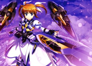 Rating: Safe Score: 20 Tags: fujima_takuya mahou_shoujo_lyrical_nanoha mahou_shoujo_lyrical_nanoha_reflection takamachi_nanoha weapon User: drop