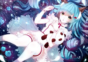Rating: Safe Score: 41 Tags: animal_ears dress phino thighhighs User: Injection