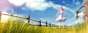 Rating: Safe Score: 45 Tags: dress landscape summer_dress tenmaso User: blooregardo