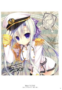 Rating: Safe Score: 52 Tags: autographed chikotam pantsu shimapan thighhighs uniform User: Twinsenzw