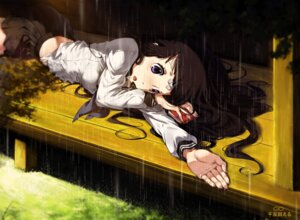 Rating: Safe Score: 59 Tags: bandaid chitanda_eru cici hyouka seifuku wet_clothes User: Radioactive