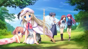 Rating: Safe Score: 43 Tags: a-chan_senpai arizuki_shiina futaki_kanata himuro_yuuki key kud_wafter little_busters! na-ga noumi_kudryavka User: rakisama