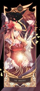 Rating: Safe Score: 6 Tags: beatrice dress umineko_no_naku_koro_ni ushiromiya_battler yer_en User: ghoulishWitchhx