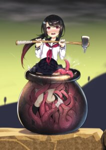 Rating: Explicit Score: 78 Tags: pantsu panty_pull seifuku tentacles weapon zero_(miraichizu) User: Mr_GT